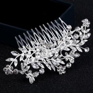 New Butterfly Flower Leaves Comb -