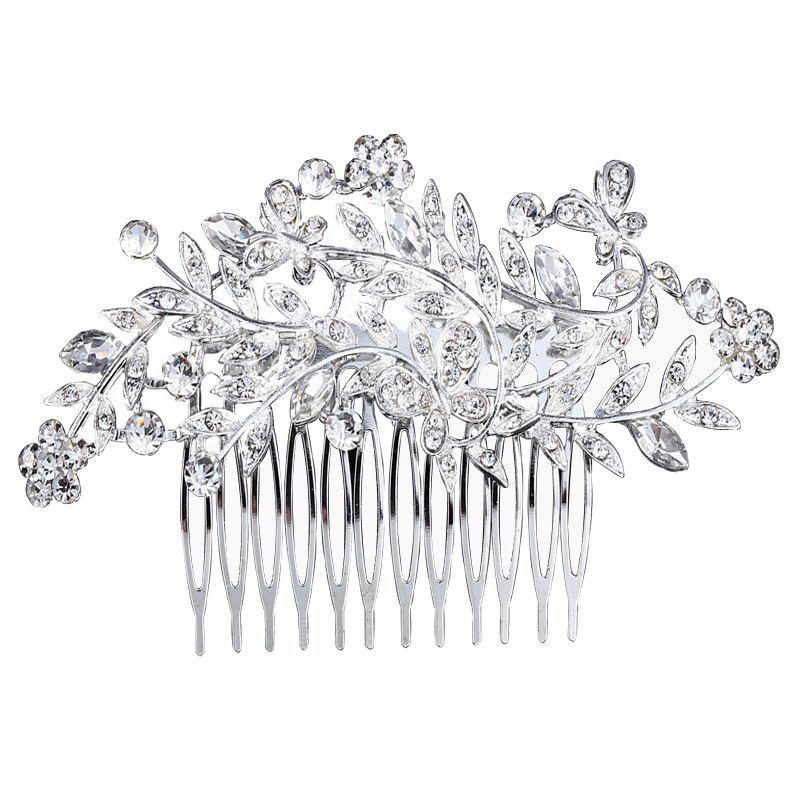 Fashion New Butterfly Flower Leaves Comb