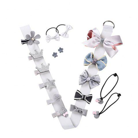 Unique Baby Headdress Set Girl Headband Baby Supplies Bow Knot Hairpin