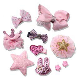Baby Headdress Set Girl Headband Hair Rope Headwear -