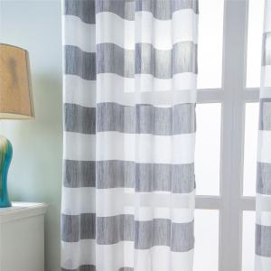1PCS Fresh and Simple Style Striped Curtain -