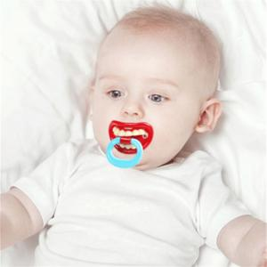 Funny Mouth Style Infant Pacifier -