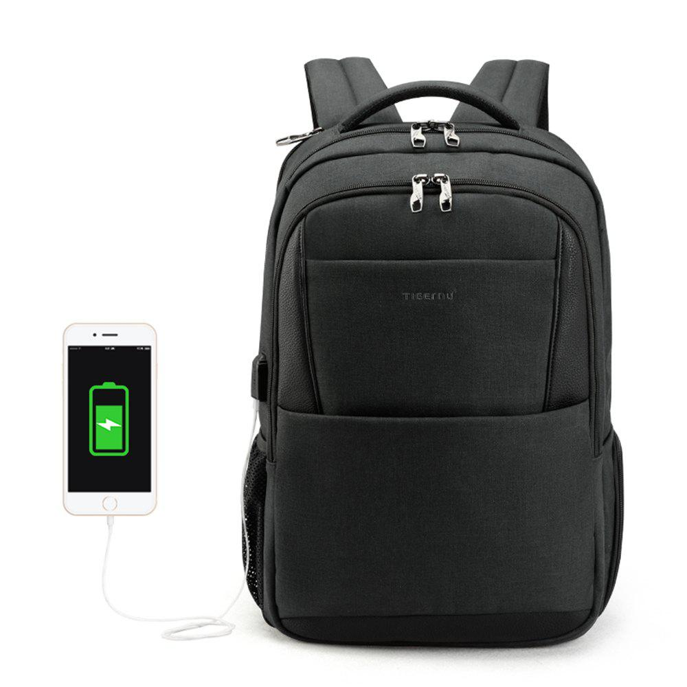 Trendy 2018 Tigernu Brand New Design Male Mochila 15.6 Anti-theft laptop  backpack USB Charging d09cee1e728a8