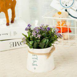 WXQY-12 Nordic Garden Home Milan Potted Plant -