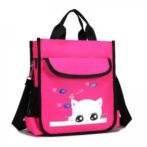 Cartable de dessin animé de chat d'enfant cartable mignon -