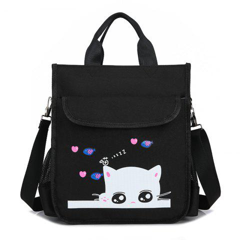Sale Kid's Cartoon Cat Print Cute Schoolbag