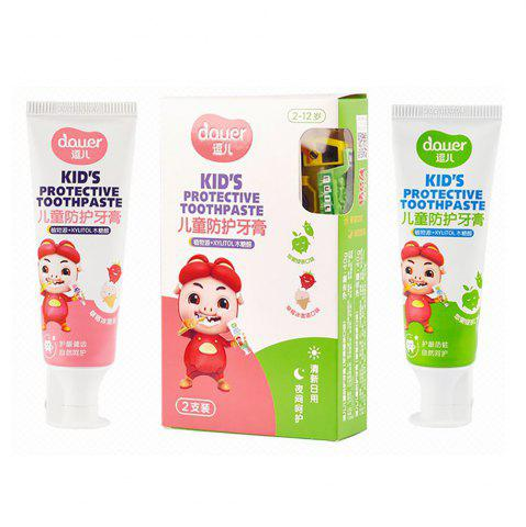 Fancy Douer Kids Protective Toothpaste Set
