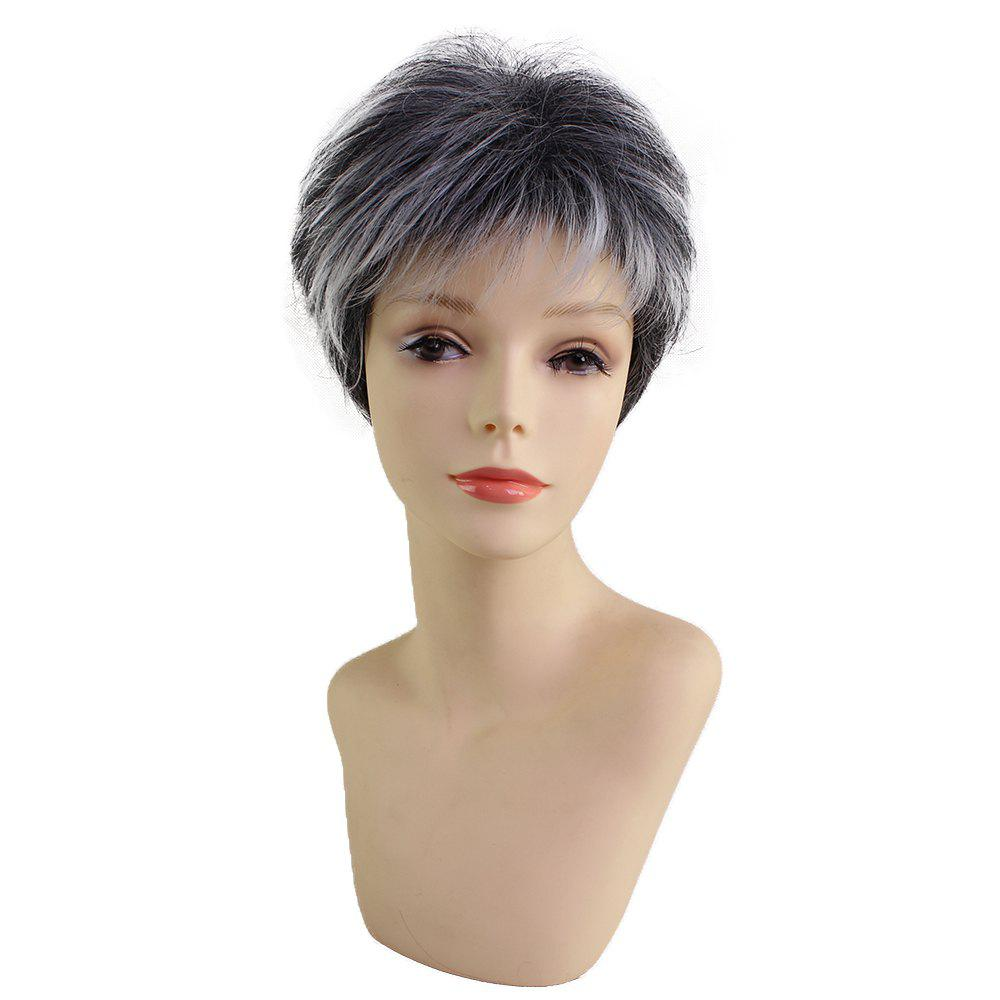 New Short Beautiful Fashion Synthetic Wig Fit for Various Occasions