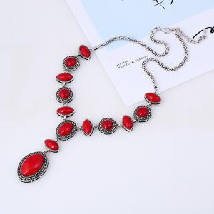 Fashion Long Popular National Wind Sweater Chain Necklace -