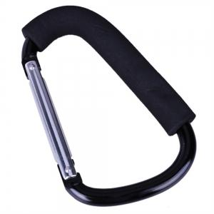 Pram Hooks Pushchair Hanger Shopping Bag Carriage Button Carabiner Accessorie -