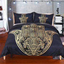 Hamsa Hand Bedding housse de couette Set Digital Print 3pcs -