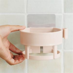 Multi Function Plastic Hair Dryer Rack Storage Bathroom Racks -