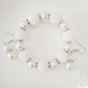 New Frosted Elegance Necklace Set -