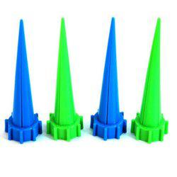 4PCS Blue and Green Color Garden Automatic Watering Sprinkler Irrigation Device -