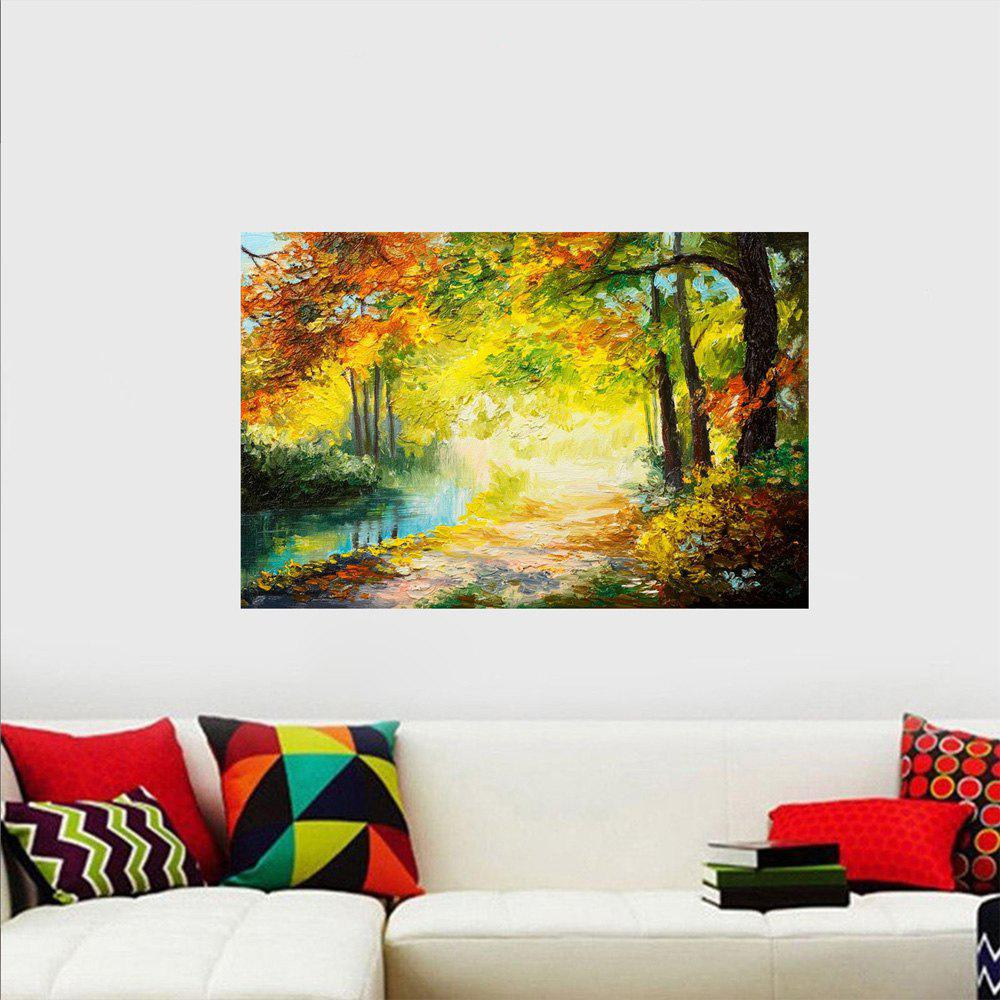 Multi Creative Painting Landscape Wall Sticker | RoseGal.com