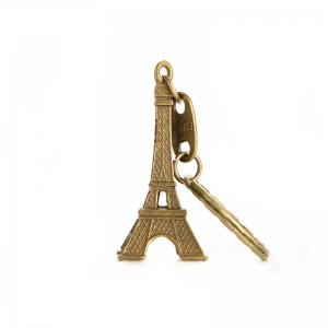 Cute Retro Mini Paris Tower Model Keychain Keyring Keyfob Metal Ring Gift Adorn -