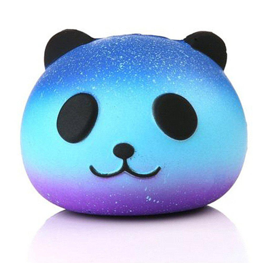 Fancy Star Panda Decompression Bread PU Simulation Slow Rebound Toy Jumbo Squishy