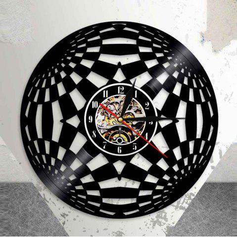 Affordable Decorative  Design Vinyl Record Wall Clock for Bedroom Gift Birthday Present