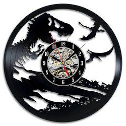Jurassic Park World Art Gift Vinyl Record Wall Clock Present -