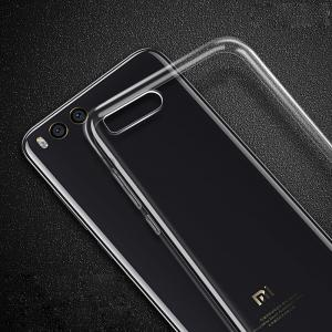 Ultra-Thin Tpu Back Cover Case for Xiaomi Mi 6 - Transparent -