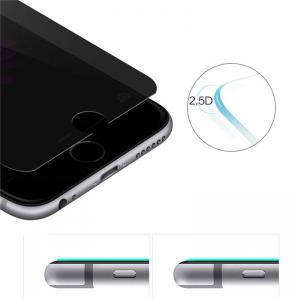 Anti-Peep Tempered Glass Film Protective Film for iPhone 8 -