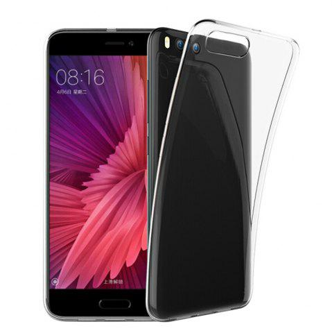 Cheap Ultra-Thin Tpu Back Cover Case for Xiaomi Mi 6 - Transparent
