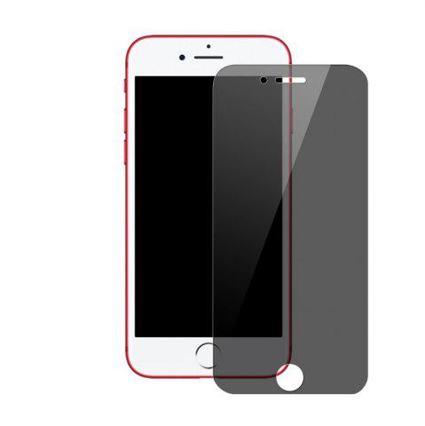 Shop Anti-Peep Tempered Glass Film Protective Film for iPhone 8