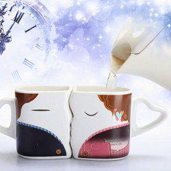 Couple Kissing Color Changing Mug Sweetheart Gifts for Sweetheart -