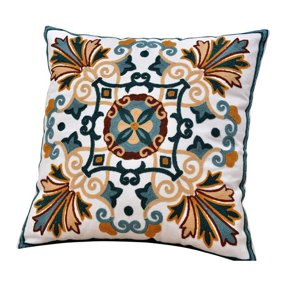 Shops National Wind Creative Cotton Embroidery Cushion Pillowcase