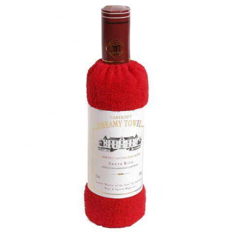 Shop New Cotton Red Wine Towel