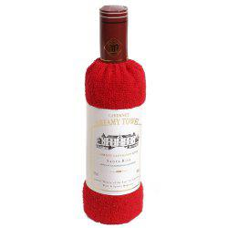 New Cotton Red Wine Towel -