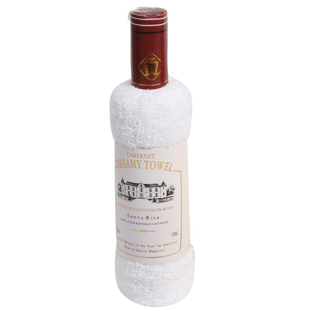 Discount New Cotton Red Wine Towel