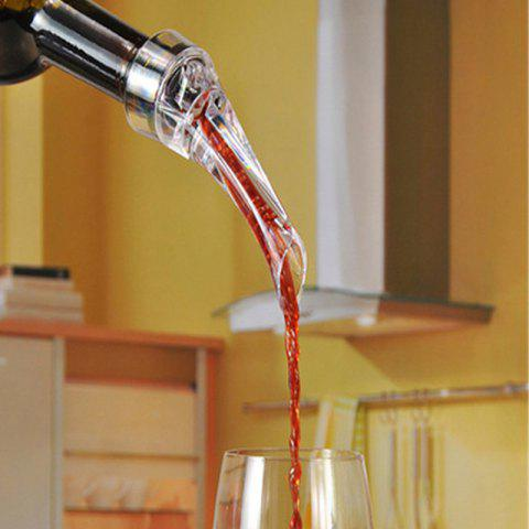 Hot Transparent Red Wine Pourer