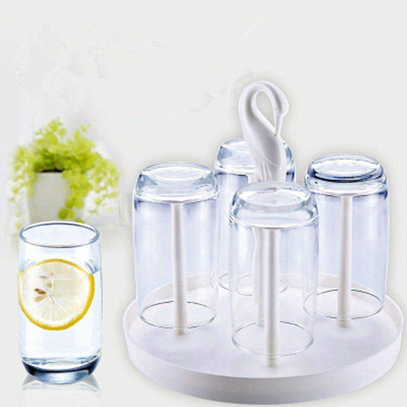 Fancy Creative Rotating  Holder and Glasses Set