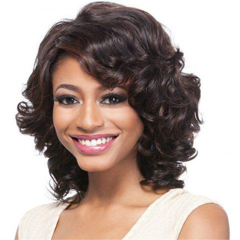 Latest Fashionable Curly Hair Fluffy Wig