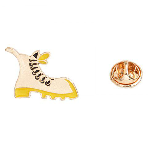 Shops Men and Women Fashion Jewelry Boots Four Star Diamond Brooch Cute