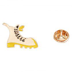 Men and Women Fashion Jewelry Boots Four Star Diamond Brooch Cute -
