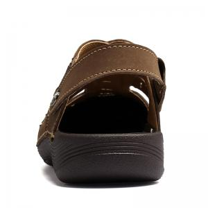 Men Casual Fashion Sandals Leather Shoes -
