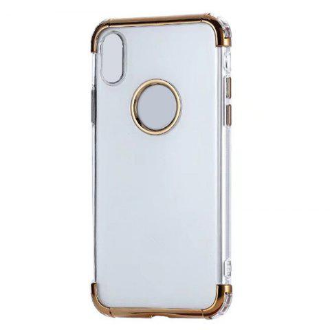 Trendy Unicorn Beetle Style Premium Hybrid Protective Clear Case for iPhone X