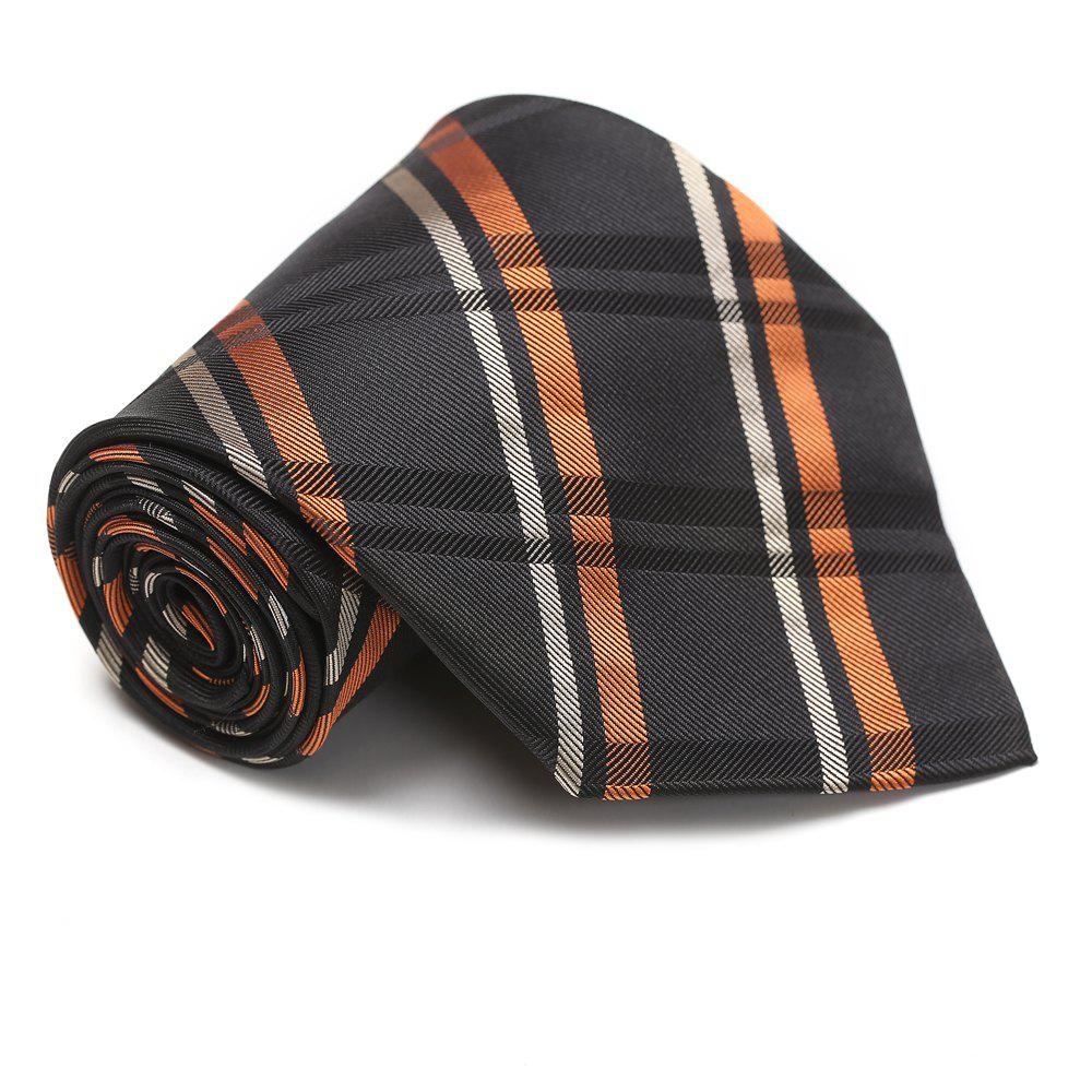 Fashion New Arrival Men Fashion Classic Stripe Plaid Necktie Casual Business Tie