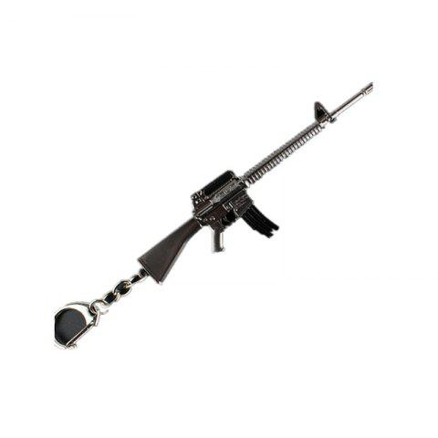 Shops Game Rifle Model Battlegrounds Cosplay Props Alloy Armor Key Chain