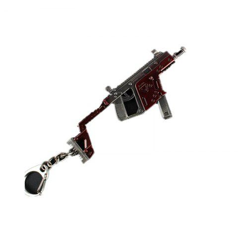 Sale Game Rifle Model Battlegrounds Cosplay Props Alloy Armor Key Chain