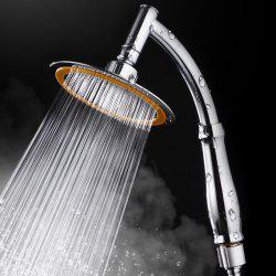 Bathroom Rainfall Ionic Nano Shower Head Round Chrome Ultra-Thin -