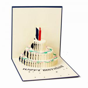 Birthday Creative 3D Greeting Card -