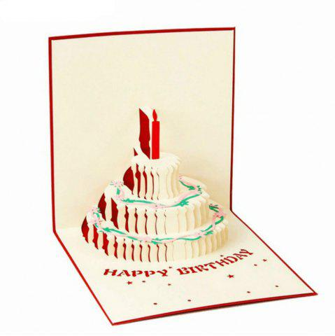 Fashion Birthday Creative 3D Greeting Card
