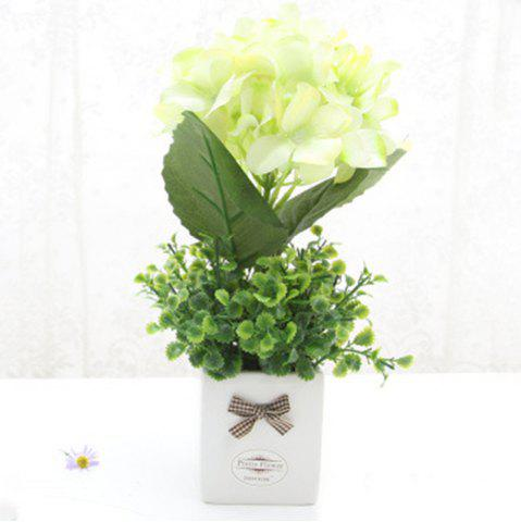 Fashion Modern Decorative Artificial Flower with Pot