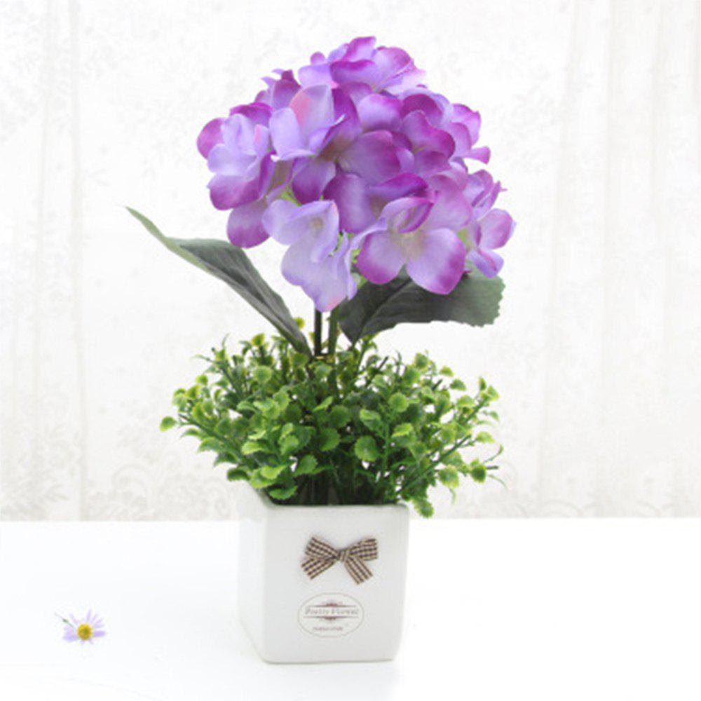 New Modern Decorative Artificial Flower with Pot
