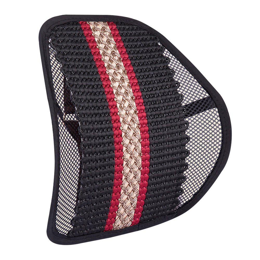 Fancy Hand-woven Office Massage Ice Silk Breathable Belt Back