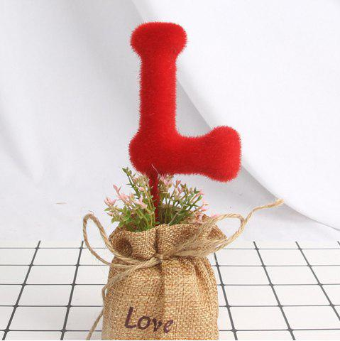 Store Artificial Love Green Plant