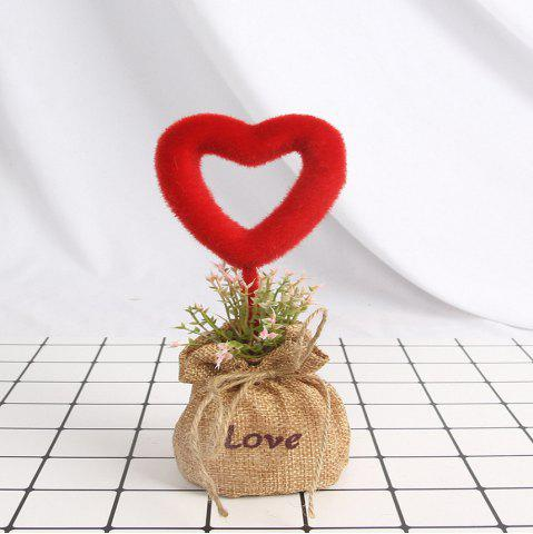 Shop Artificial Love Green Plant